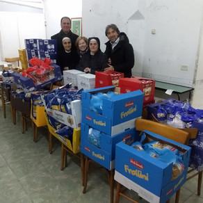 Service di Natale in favore delle famiglie bisognose della Città Vecchia