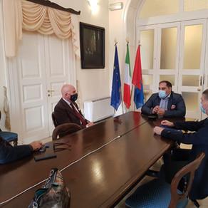 Rinaldo Melucci diventa socio onorario del Rotary Club Taranto Magna Grecia