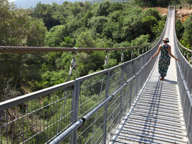 Let's Hang out! The hanging bridges in Haifa (Nesher Park)