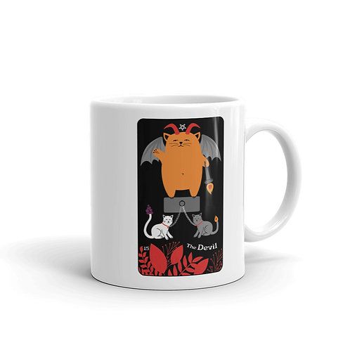 THE DEVIL MUG from the Blooming Cat Tarot