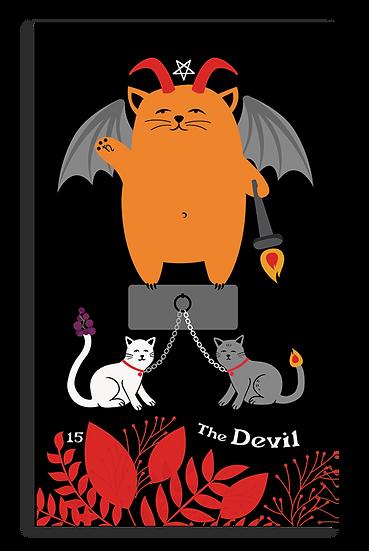The Devil-Blooming Cat Tarot.png