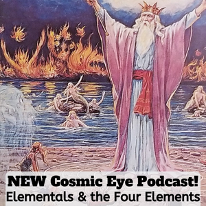 Magician conjuring Elementals