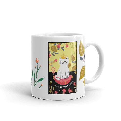 THE EMPRESS MUG- Blooming Cat Tarot