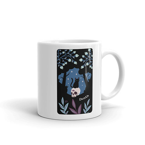 DEATH MUG from the Blooming Cat Tarot
