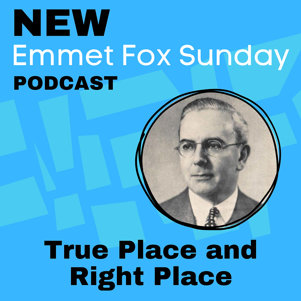 Dr. Emmet Fox, New Thought Writer and Teacher
