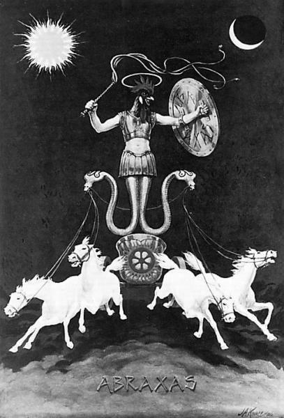 Abraxas Gnostic Sun god
