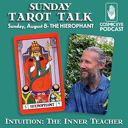 Cosmic Eye Sunday Tarot Talk