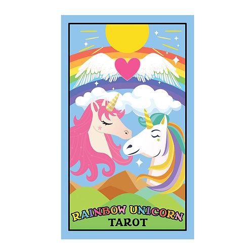 PRE-ORDER Rainbow Unicorn Tarot Deck