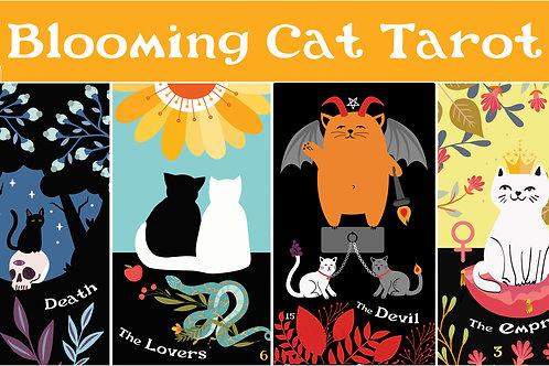 Blooming Cat Tarot Deck- Pre-Order