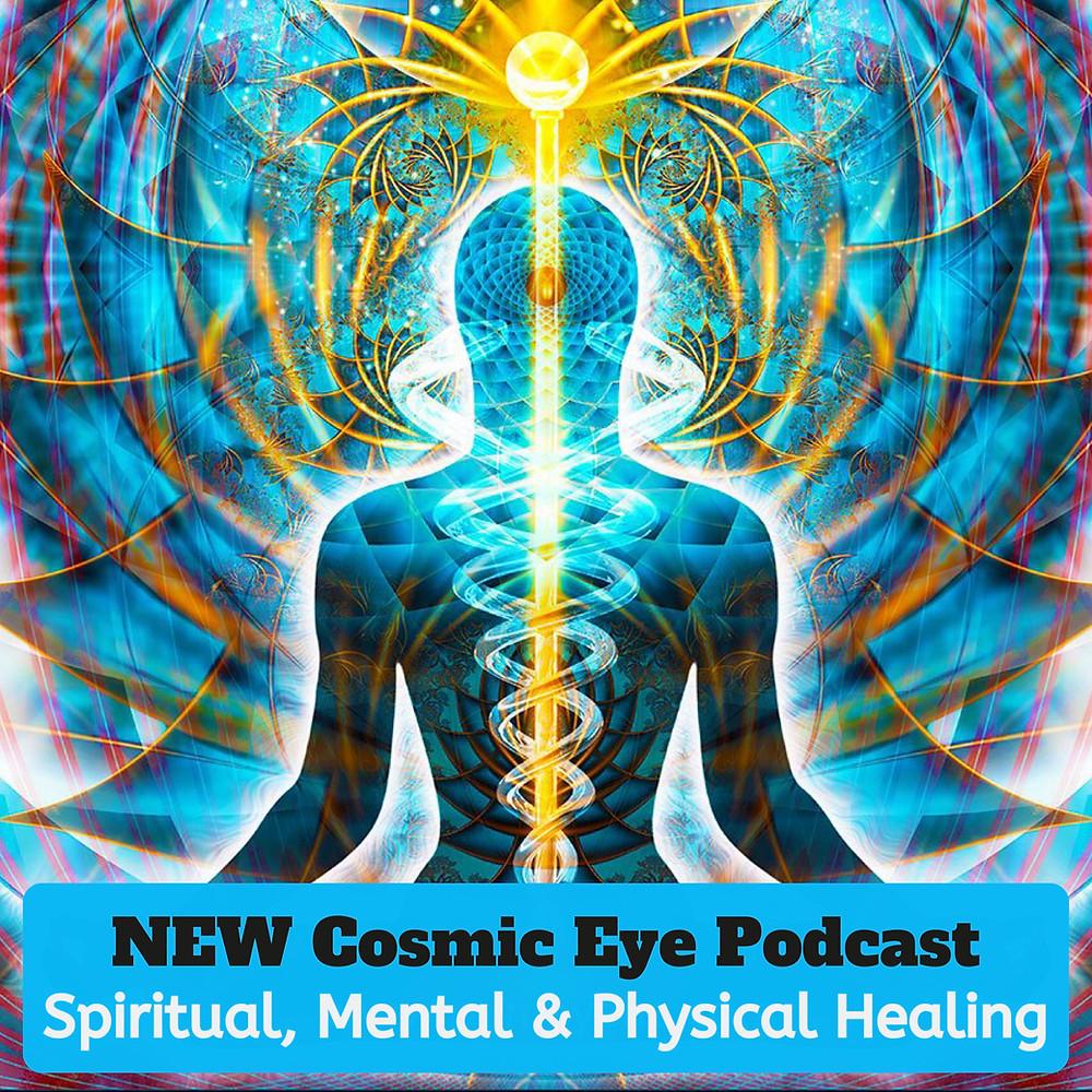 The chakras, caduceus wand, and spiritual body