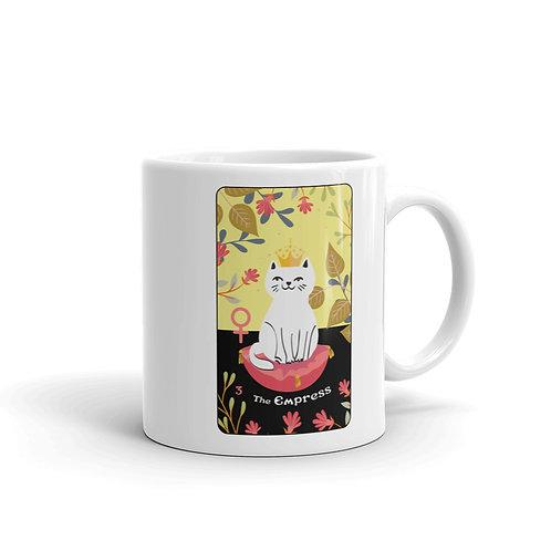 THE EMPRESS MUG from the Blooming Cat Tarot