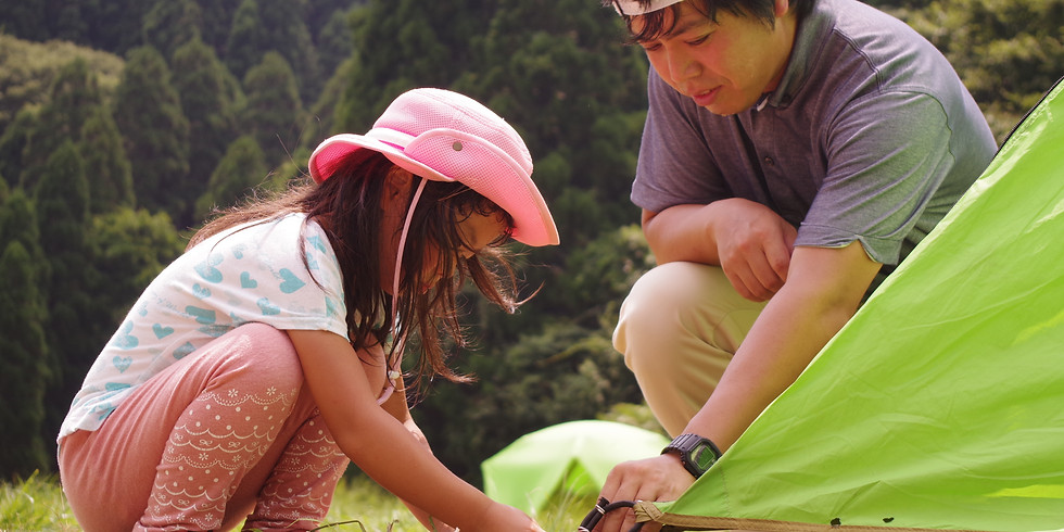 【山】ファミリーキャンプ