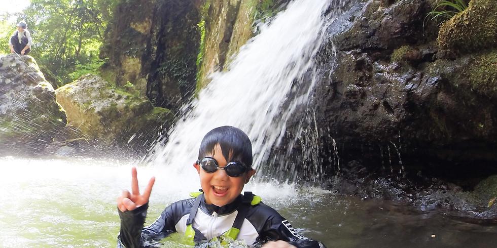 【渓谷】シャワークライミングDAYキャンプ
