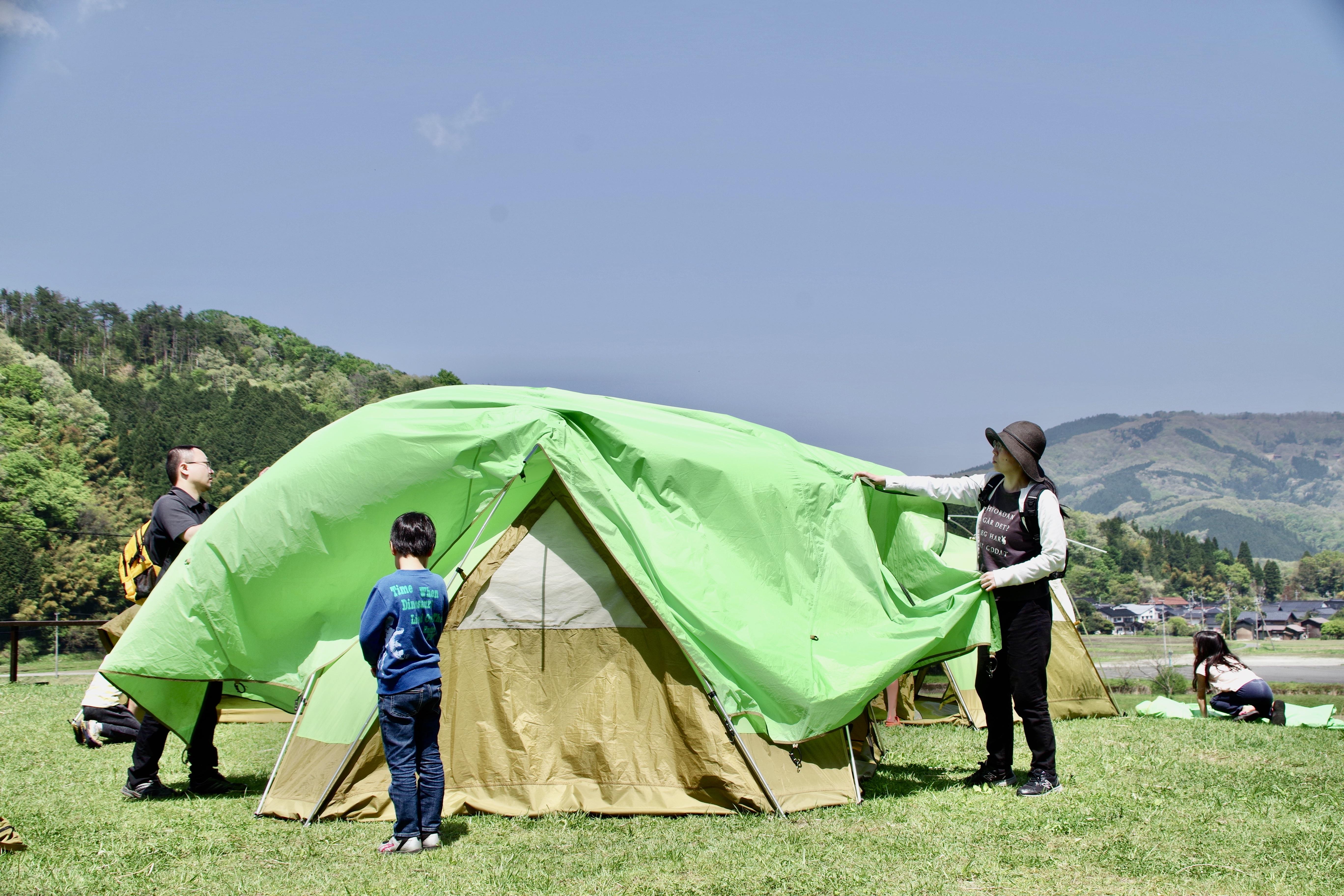 4/25-26 春は山菜料理!手ぶらでOKファミリーキャンプ
