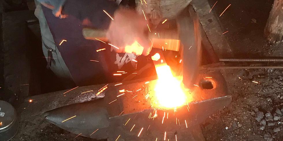 【2泊3日】3/25-27鍛冶職人と自分だけのアイテム作り春キャンプ