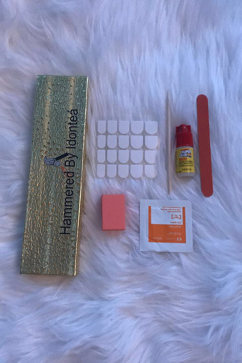 Free Hammered Nail Kit With Purchase