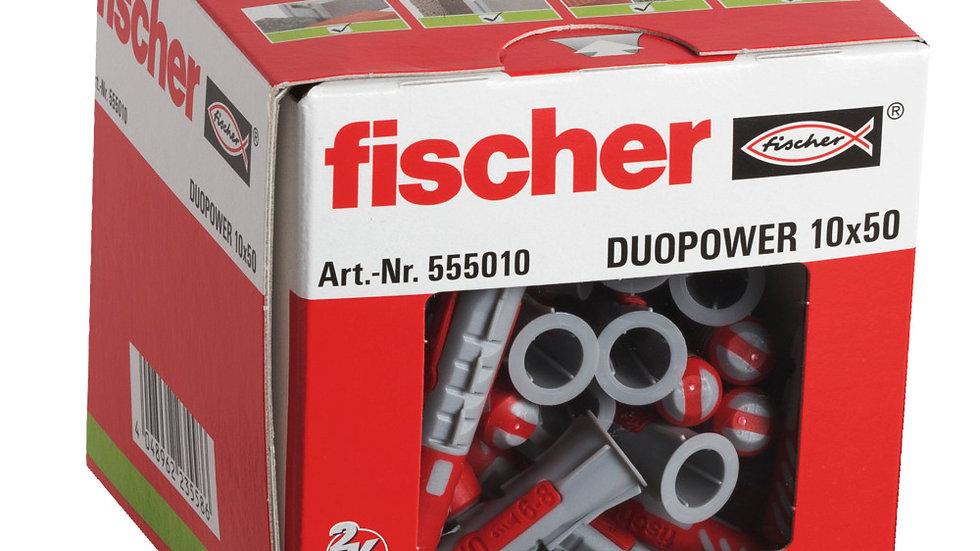 """Fischer דיבל 50*10 מ""""מ 50 יחידות של"""