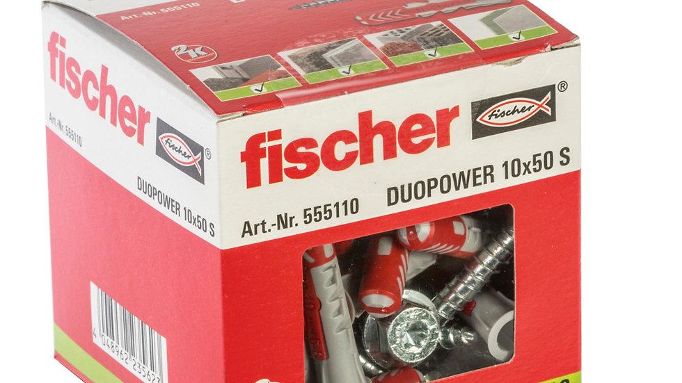 """Fischer S דיבל 50*10 מ""""מ מסדרת"""
