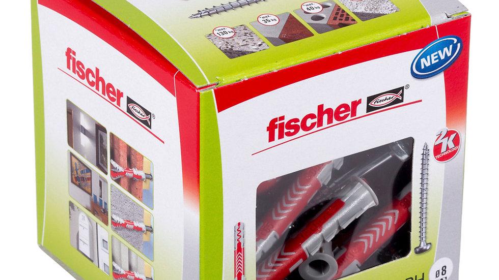 """Fischer S דיבל 65*8 מ""""מ 50 יחידות מסדרת"""