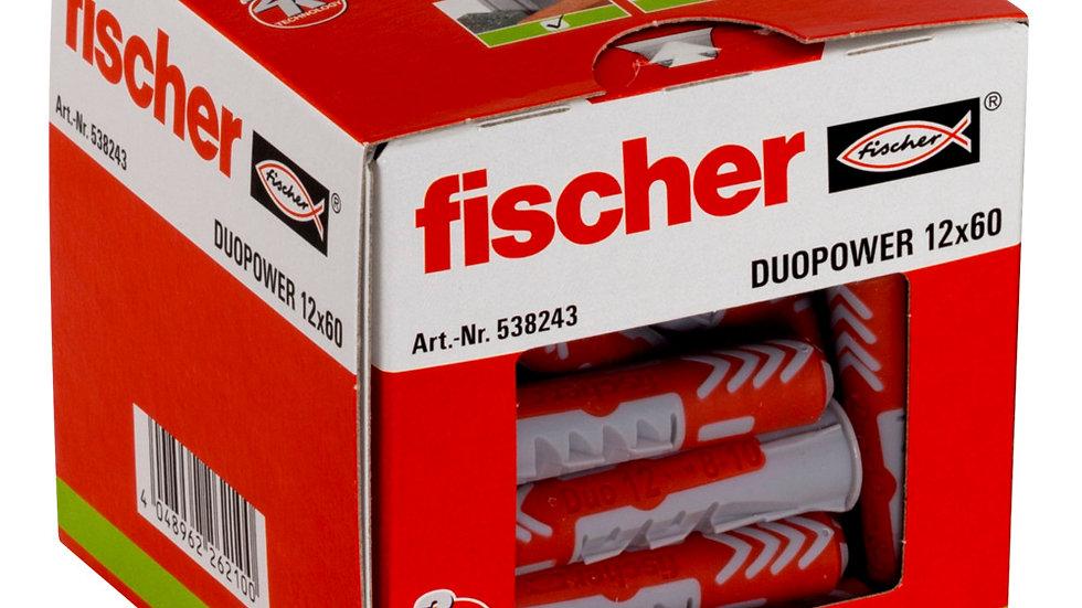 """Fischer דיבל 60*12 מ""""מ 25 יחידות של"""