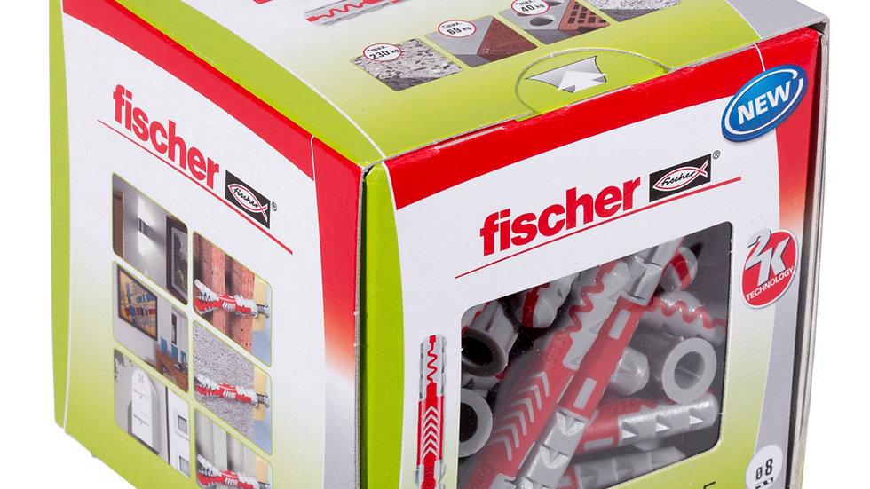 """Fischer דיבל 65*8 מ""""מ 50יחידות של"""
