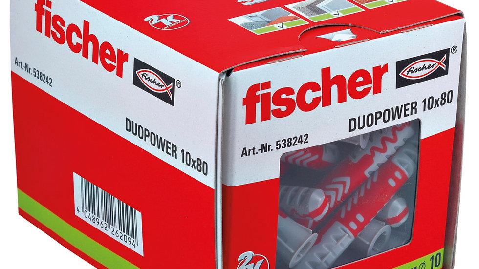 """Fischer דיבל 80*10 מ""""מ 25 יחידות של"""
