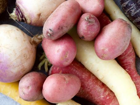 Hverdagens frugt og grønt - Skal vi købe dansk konventionelt eller importeret økologi?
