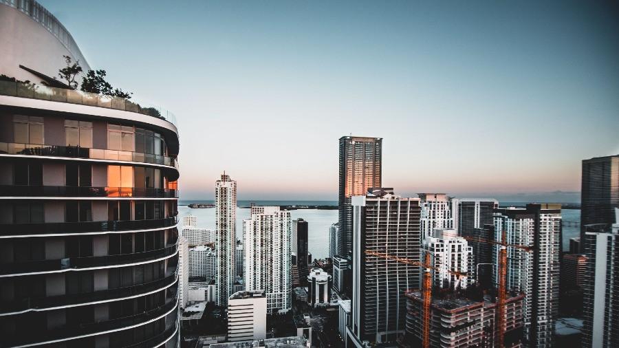 Miami ao entardecer