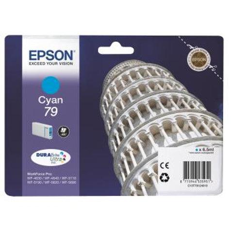 EPSON 79  CYAN ORIGINAL T7912