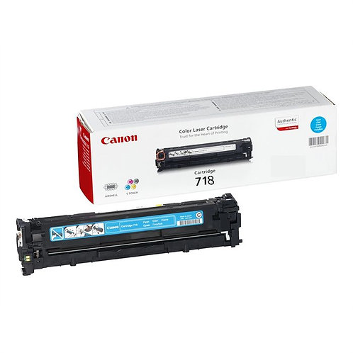 Toner laser Canon 718 Cyan