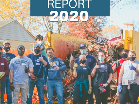 Our first Community Report was from a Pandemic Year