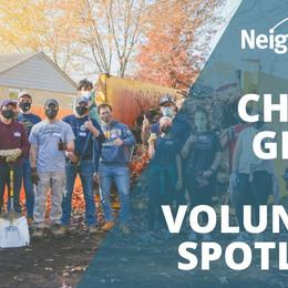 Volunteer Spotlight on Chris & Gracie