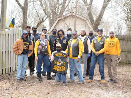 Buffalo Soldiers Garage Tear Down
