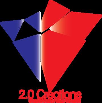 The original 2.0 Creations Logo