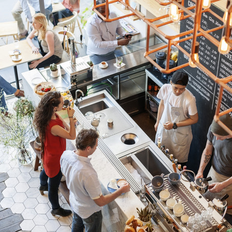 $380,000 LICENSED CAFE RESTAURANT   HIGH TURNOVER   NEW FIT-OUT