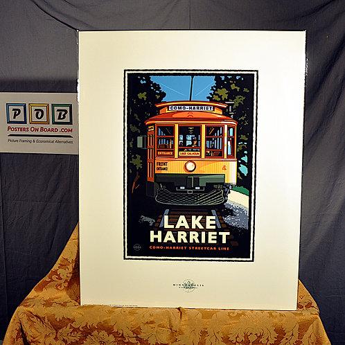 Mark Herman, Lake Harriet Trolley, 16x20