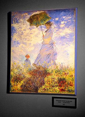 Monet, Madame Monet & Her Son