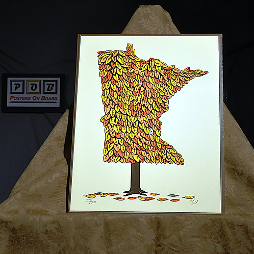 Brian Geihl, Minnesota Grown - Autumn, 11x14, Limited Edition, 273-500, 25