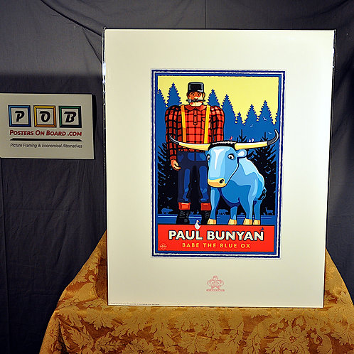 Mark Herman, Paul Bunyan Summer Red Yellow, 16x20