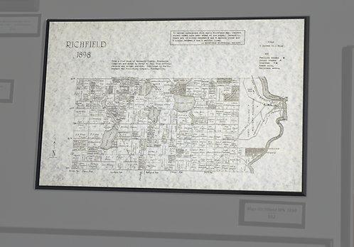 Richfield, MN, Map, 1989