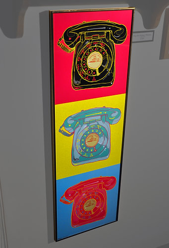 Pop Art Rotary Phones