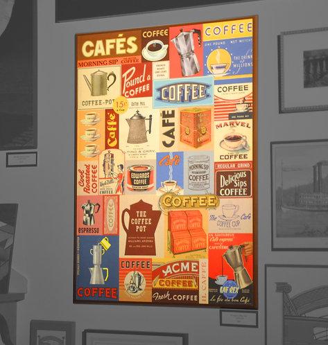 Vintage Coffee Ads