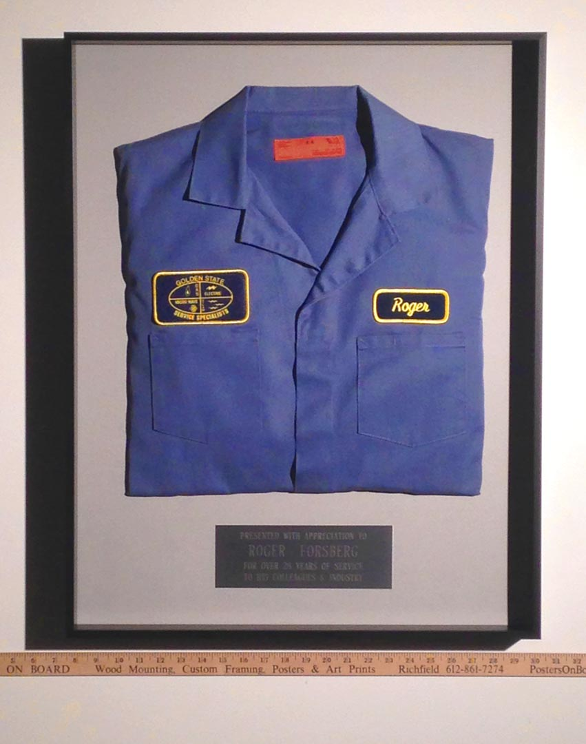 Uniform & Plaque