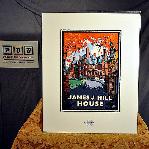 Mark Herman, James J Hill House St Paul, 16x20
