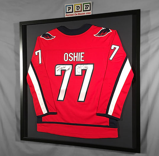 Sports Jersey Shadow Box Frame
