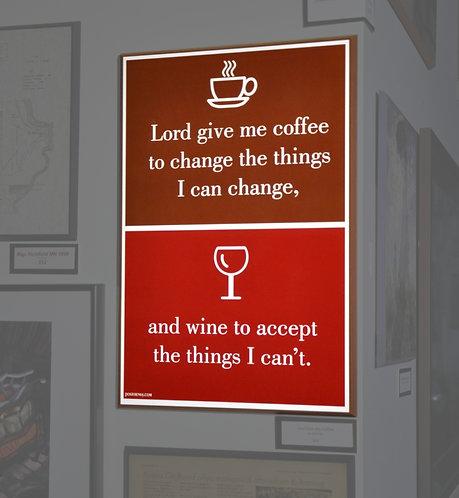 Lord Give Me Coffee