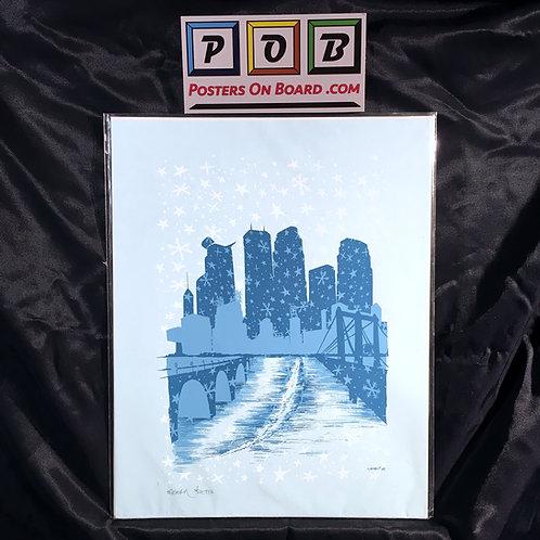 Snowy Minneapolis