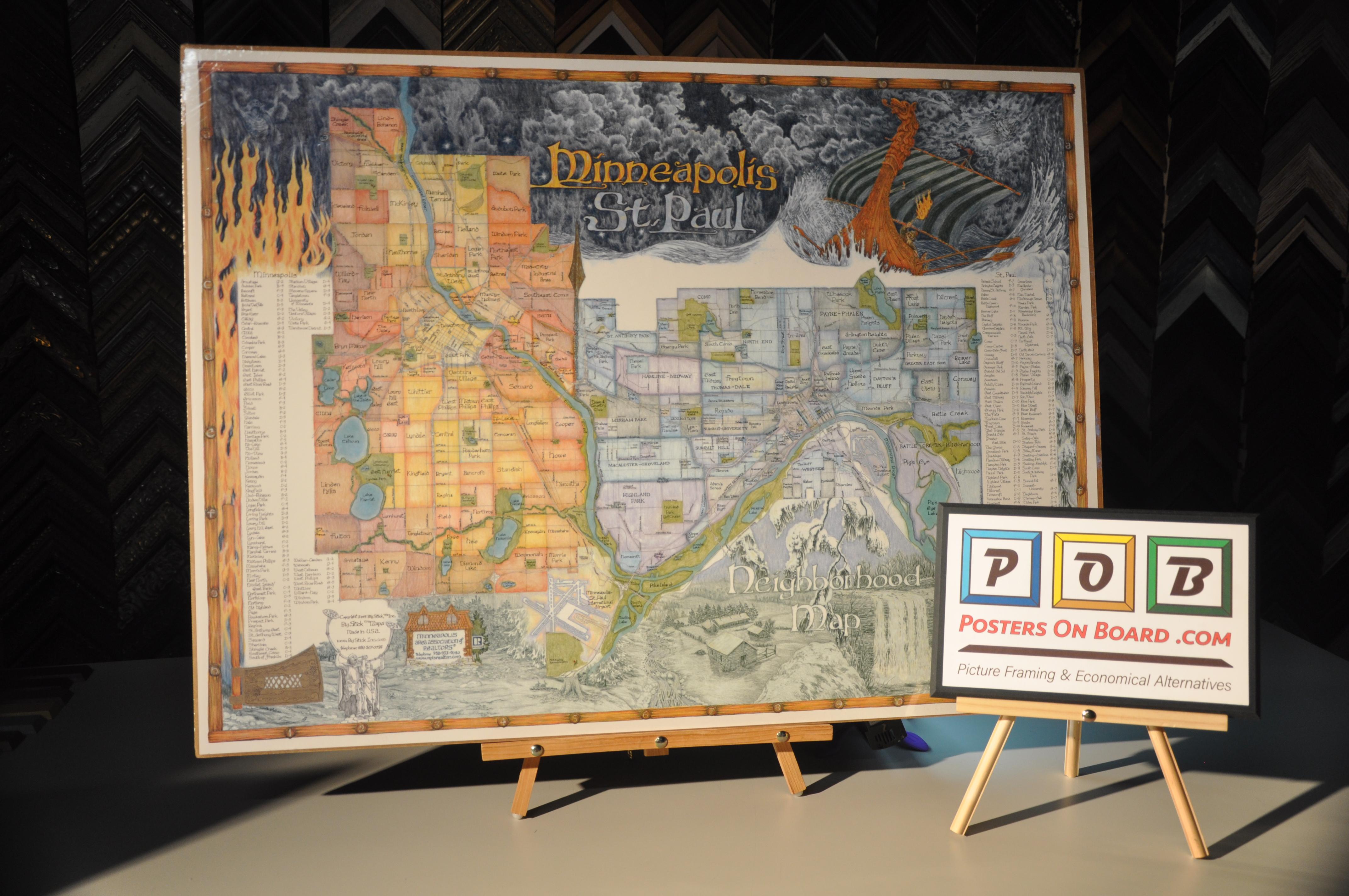 PostersOnBoard.com, Twin Cities