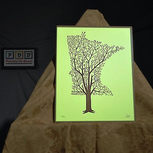 Brian Geihl, Minnesota Grown - Spring, 11x14, Limited Edition, 432-500, 25