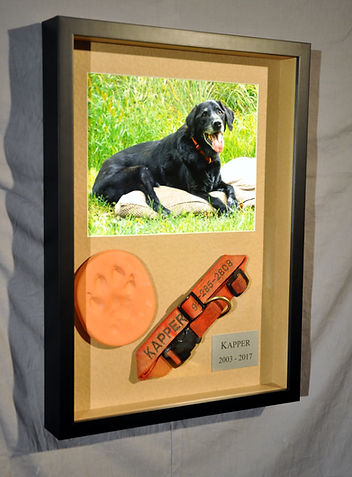 Shadow Box Frames can be used for 3-D items.